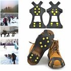 Anti-Slip Shoes Boots Covers Ice Snow Crampons Grippers Climbing Spikes Cleats