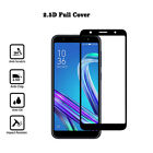 2.5D TEMPERED GLASS FULL SCREEN PROTECTOR Cover fits FOR ASUS Zenfone