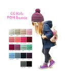 Внешний вид - Brand NEW! Kids CC Beanie Cute Warm and Comfy Pom Pom Knit Ski Kids Beanie Hat