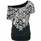 Full Volume by EMP  Maglia donna - Crossbones Skully Shirt