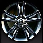 "19"" Wheel Mask Decal Sticker 4D Real Carbon For Hyundai Genesis Coupe"