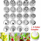 Russian Tulip Flower Cake Icing Piping Nozzles Decorating Tips Baking Tools US