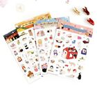 Kawaii Cute Diary Deco Stickers - Jetoy Choo Choo Deco Sticker