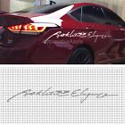 Decal Product Slogan Sticker 1650mm For Hyundai Genesis Sedan : DH