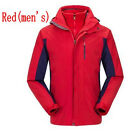 Men Women Outdoor Climbing Camping Hiking Waterproof Windproof Warm Jacket Coat