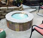 """Cheap Bulk 1/2"""" CLEAR FIREGLASS For Gas Fireplace And Fire Pit Glass Crystals"""