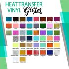 Glitter Heat Transfer Vinyl Roll 10