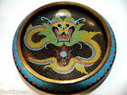 VERY BEAUTIFUL OLD CHINESE CLOISONNE BOWL - CHARACTER MARKS ON BASE - RARE L@@K