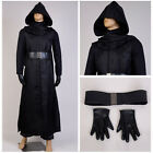 Star Wars 7 The Force Awakens Dark Ben Solo Kylo Ren Cosplay Costume Outfit Suit $187.6 CAD