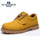 Men Work Shoes Leather Water Resistant Working Boots for Men 4 colors