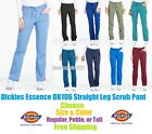 Dickies Essence Straight Leg Scrub Pant DK106 Choose Size & Color Free Spipping!