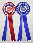 Set of Large Champion & Reserve/BIS & RBIS Rosettes, Stock or Personalised