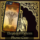 Elephant Pattern Floral for iPhone 5 5s 4 4s 5c 6 6 7 Plus iPod touch Pone Case