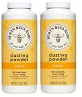 Burt's Bees Baby Bee Dusting Powder Original 100 % Natural 7.5 OZ - LOT OF 2
