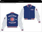 JH Design Chicago Cubs White/Royal 2016 World Series Champions Jacket