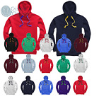 Club Team Hoodies COLOUR CORD OPTIONS MENS SIZE Adults UNISEX HOODY Bespoke