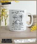 Bichon Frise Dog Mug ~ Perfect Gift can be personalised ~ Vintage style