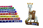 SOPHIE GIRAFFE TOY STRAP, SOPHIE SAVER - STAR DESIGN - 8 colours to choose