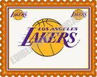 Los Angeles LA Lakers - Edible Cake Topper OR Cupcake Topper, Decor on eBay