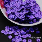 2000pcs 6mm DIY Round Cup Sequins Paillettes Loose AB Wedding Craft Accessories