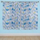 Childrens Official Disney Frozen Olaf Character Ready Made Pencil Pleat Curtains