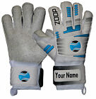 Zoop Pro High Quality Goalkeeper Hybrid Roll Finger Saver Gloves Size 8/9/10