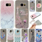 Cute Painted Soft TPU Shockproof Slim Back Case Cover For Samsung Galaxy