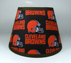 Cleveland Browns NFL Brown Orange  Fabric Lamp Shade Lampshade Handmade