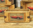 MGB Roadster Vintage Box Small Rustic Storage Crate Classic Car Gift