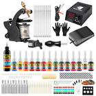 Tattoo Kit 1 machine Gun Color Inks Solong Tattoo Complete  Power Supply Needles