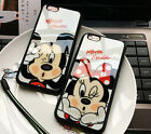 Fashion Cartoon Lovers Mickey Minnie Case For iPhone 6 6s 7 7 Plus *Great Gift*