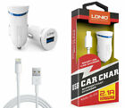 LDNIO DL-C12 Universal 2.1A Smart USB Car Charger Adapter for iPhone Android LOT