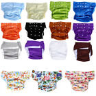 Portable Absorbant Washable Adult Incontinence Heat Travel Diaper Nappy Pants
