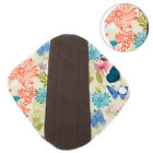 4Sizes Reusable Washable Charcoal Bamboo Cloth Sanitary Towel Mama Menstrual Pad
