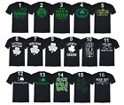 St Patricks Day shirt Shamrock Clover Paddy's Irish Unisex Men T-Shirt Black Tee