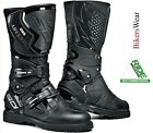 Sidi Adventure Style Gore Tex Leather Gtx Waterproof Motorcycle Touring Boots