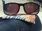 "Maui jim""TYPHOON""120-02 BLACK/BRONE,NEW DISPLAY W/CASE,IMPOSSIBLE FIND,STUNNING!"