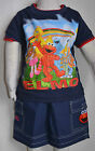 NEW Boy Elmo Summer 2 pieces sets Size 1,2,3,4,5,6