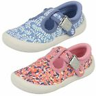 Infant Girls Clarks Doodles Casual Shoes Briley Bow 17