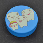 Teeth Box Organizer for Baby Milk Teeth Collecting Round Plastic Case Gift