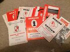 """NORTH SHIELDS FC  HOME PROGRAMMES  """" BUY 1 GET 1 FREE """""""