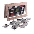 Empty Metal Pans Square-shape Cosmetics Container Fit Magnetic Makeup Palette