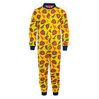 Arsenal Football Club Official Soccer Gift Boys Kids Pajama All-In-One
