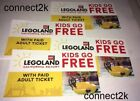 KID CHILD GO FREE w/paid Adult Legoland CALIFORNIA Email Code in MINS 12/31/2019
