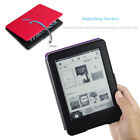 5color Slim Flip PU Leather Case Cover For New Amazon Kindle+Screen Protector