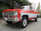 1975+Chevrolet+C%2FK+Pickup+2500+NO+RESERVE+K20+4WD+PS+PB+AC+Tach+Original+Paint