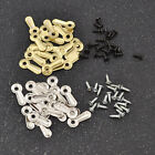 20 Pcs/lot Ridged Picture Photo Frame Turn Buttons with Screws Replacement