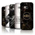 Personalized Custom Marble/Granite Phone Case for HTC One/1 M8/Initial Cover