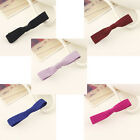 ❀ 3.5 Inch Cute Thin Soft Fabric Hair Bow Alligator Clip ❀ 5 Colours ❀ UK STOCK❀