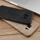 Luxury Ultra-thin PU Leather Back Skin Case Cover For Samsung iPhone 5 6S 7 Plus